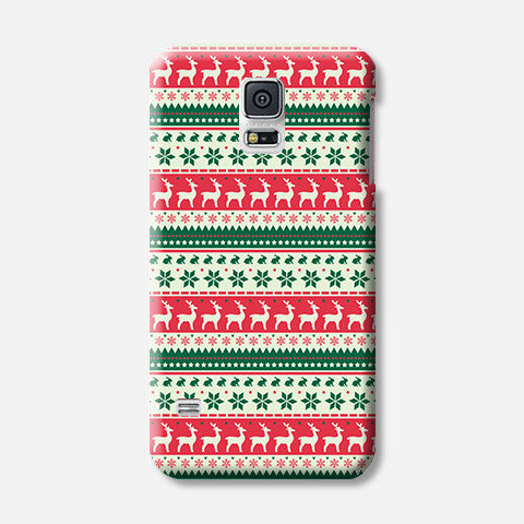 Christmas Aztec Samsung Galaxy S5 CASE - Edmotic