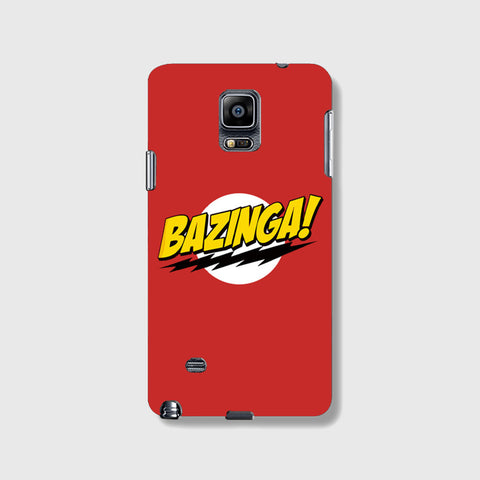 Bazinga   SAMSUNG GALAXY NOTE 4 CASE - Edmotic