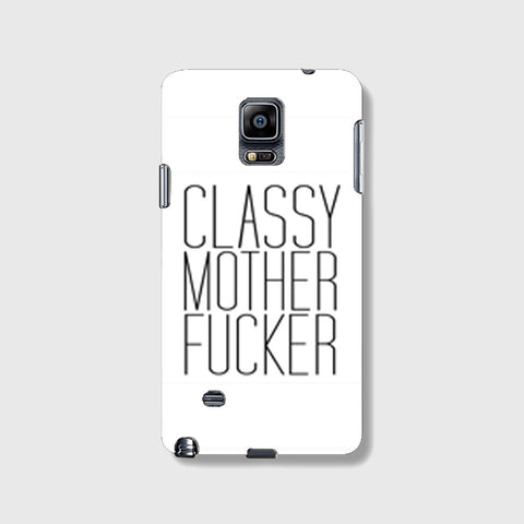 Classy Mo Fo SAMSUNG GALAXY NOTE 4 CASE - Edmotic