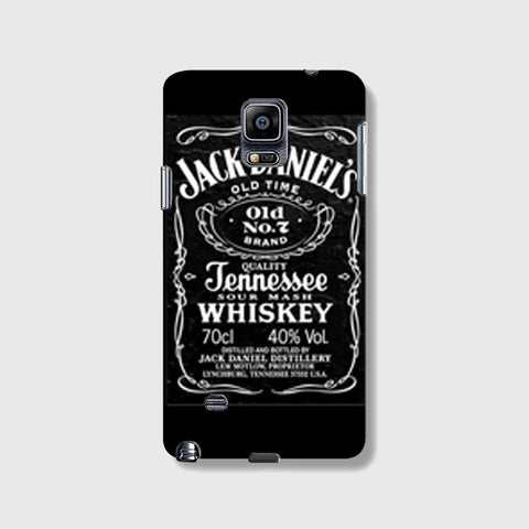 Jack Daniels  SAMSUNG GALAXY NOTE 4 CASE - Edmotic