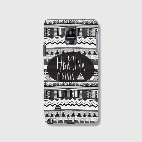 Hakuna Matata SAMSUNG GALAXY NOTE 4 CASE - Edmotic