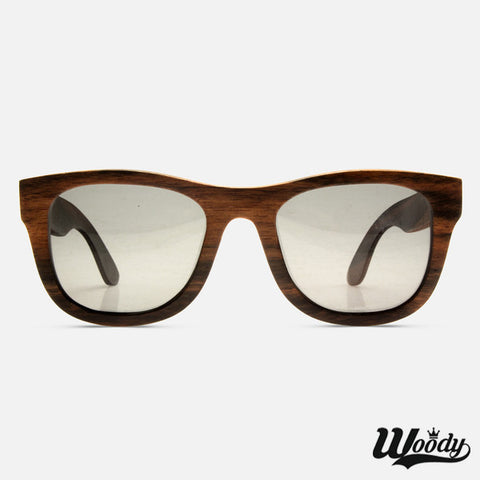 Walnut Wayfarer Wood Sunglasses - Edmotic - 1