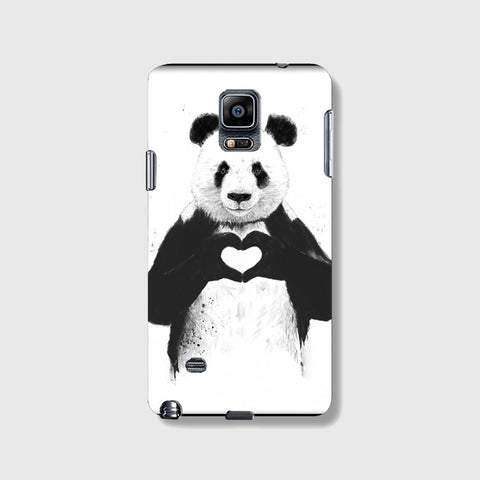 Panda Love  SAMSUNG GALAXY NOTE 4 CASE - Edmotic