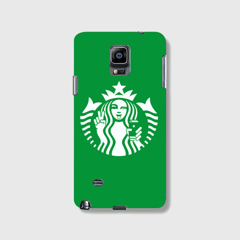 Starbucks Selfie SAMSUNG GALAXY NOTE 4 CASE - Edmotic