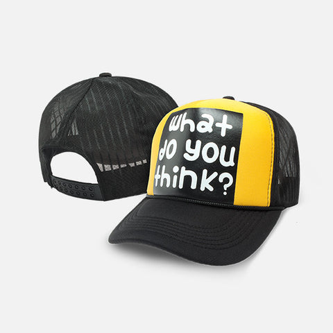 WHAT DO YOU THINK BASEBALL CAP - Edmotic