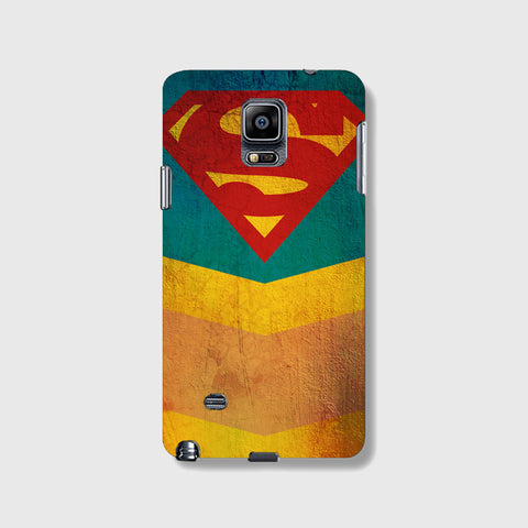 Retro Superman  SAMSUNG GALAXY NOTE 4 CASE - Edmotic
