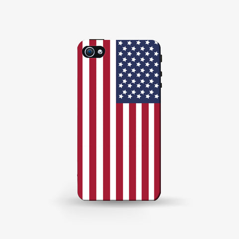 American   Iphone 4/4s Case - Edmotic