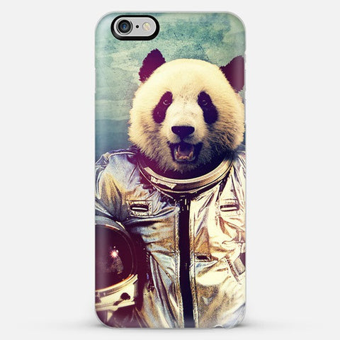 Astronaut Panda  Iphone 6 Plus Case - Edmotic