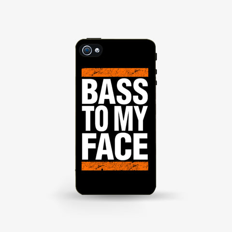Bass To My Face  Iphone 4/4s Case - Edmotic