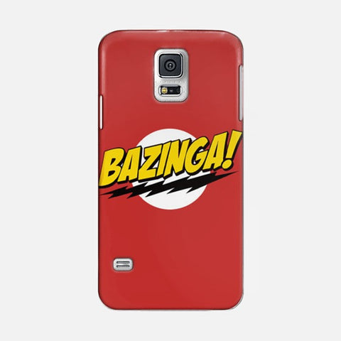 Bazinga   Samsung Galaxy S5 CASE - Edmotic