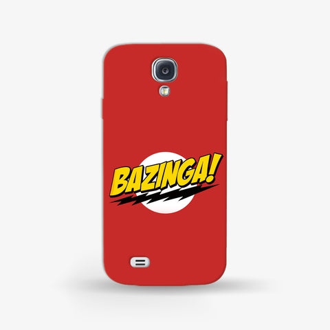 Bazinga   Samsung Galaxy S4 CASE - Edmotic