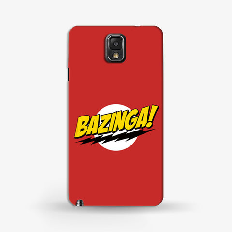 Bazinga Samsung Galaxy Note 3 CASE - Edmotic
