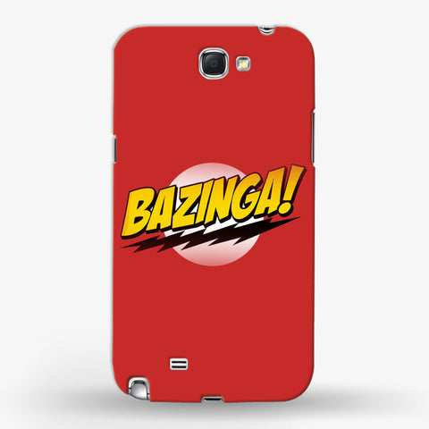 Bazinga   Samsung Galaxy Note 2 CASE - Edmotic