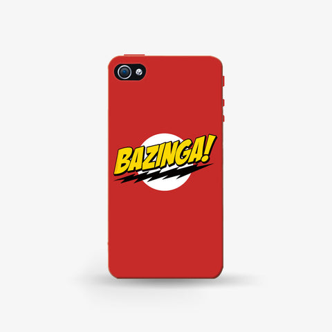 Bazinga   Iphone 4/4s Case - Edmotic