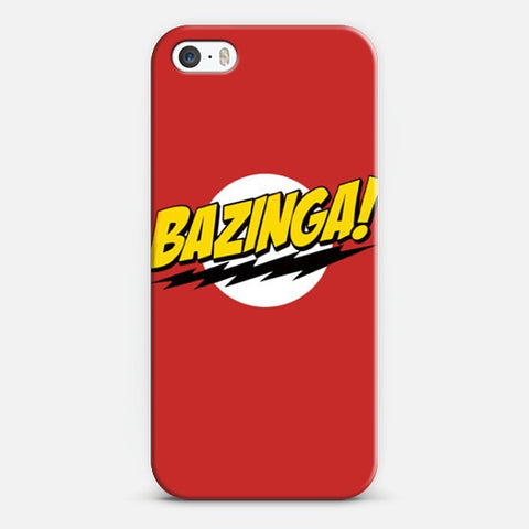Bazinga  Iphone 5/5s Case - Edmotic