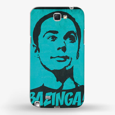 Big Bang Theory Samsung Galaxy Note 2 CASE - Edmotic