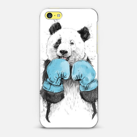 Boxer Panda  Iphone 5c Case - Edmotic