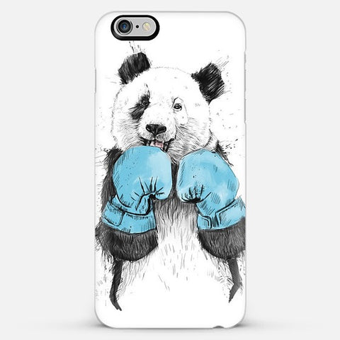 Boxer Panda  Iphone 6 Plus Case - Edmotic