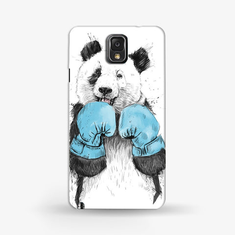 Boxer Panda  Samsung Galaxy Note 3 CASE - Edmotic