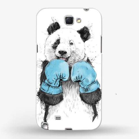 Boxer Panda  Samsung Galaxy Note 2 CASE - Edmotic
