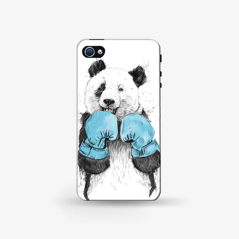Boxer Panda   Iphone 4/4s Case - Edmotic