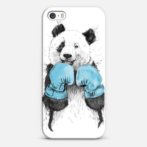 Boxer Panda   Iphone 5/5s Case - Edmotic