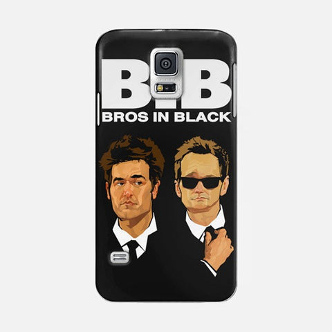 Bros in Black Samsung Galaxy S5 CASE - Edmotic
