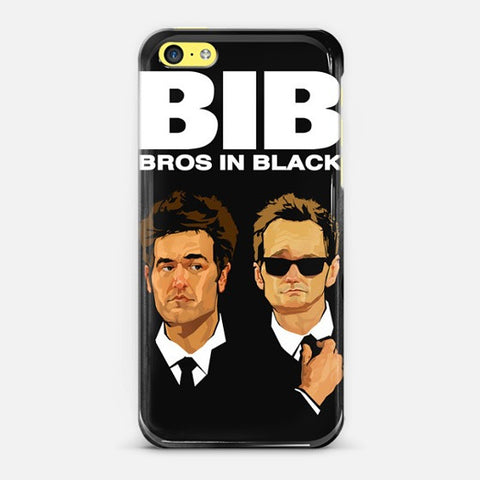 Bros in Black Iphone 5c Case - Edmotic