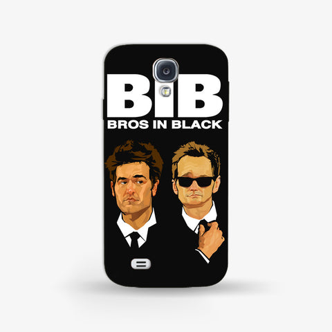 Bros in Black   Samsung Galaxy S4 CASE - Edmotic