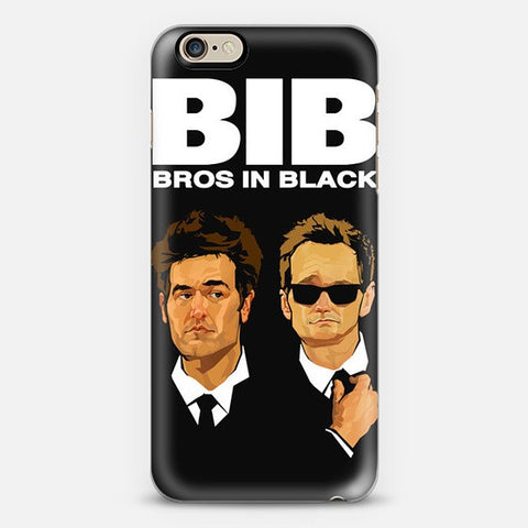 Bros in Black  Iphone 6 Case - Edmotic