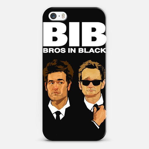 Bros in Black    Iphone 5/5s Case - Edmotic