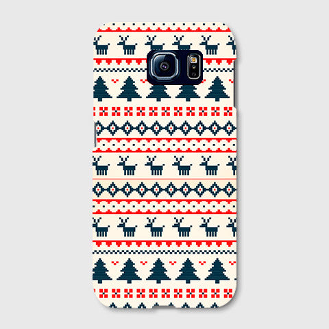 Christmas Snow Aztec SAMSUNG GALAXY S6 EDGE CASE - Edmotic