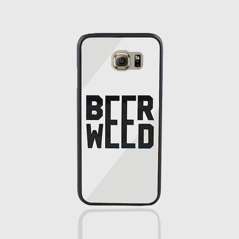 BEER WEED PHONE CASE FOR SAMSUNG S6 EDGE - Edmotic - 1