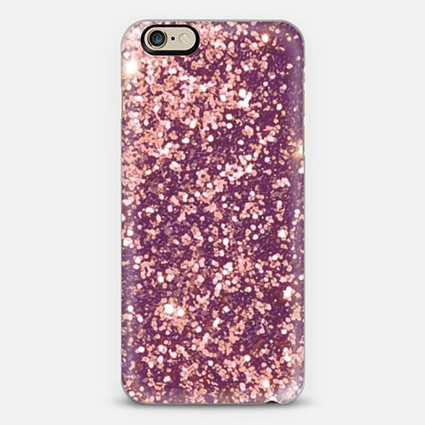 Blurry Copper Sparkle iPhone 6 Plus Case - Edmotic