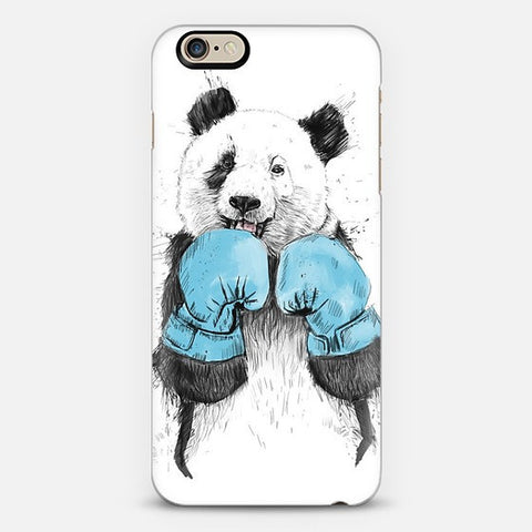 Boxer Panda iPhone 7 Case - Edmotic