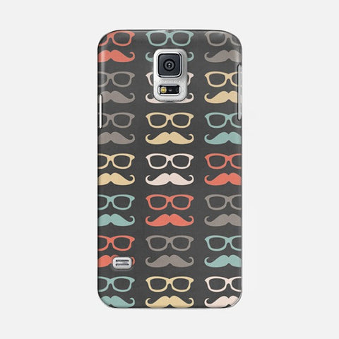 Colorful Moustache  Samsung Galaxy S5 CASE - Edmotic