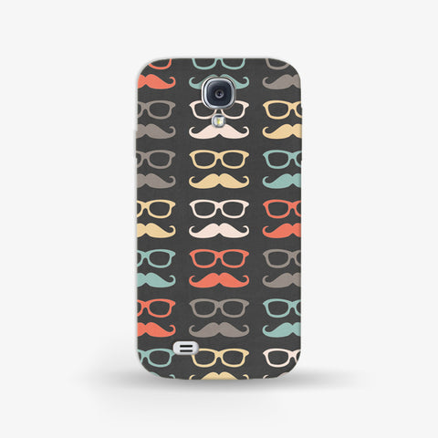 Colorful Moustache  Samsung Galaxy S4 CASE - Edmotic