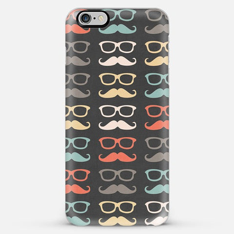 Colorful Moustache  Iphone 6 Plus Case - Edmotic