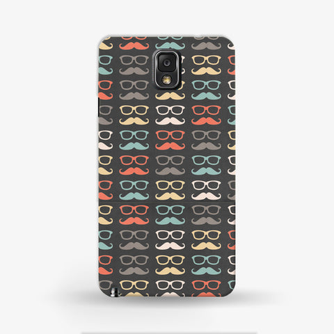 Colorful Moustache  Samsung Galaxy Note 3 CASE - Edmotic