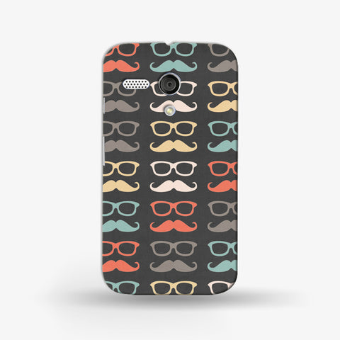 Colorful Moustache  (MOTO G) - Edmotic