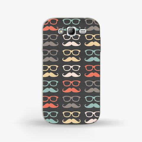 colorful moustache  Samsung Galaxy Grand CASE - Edmotic
