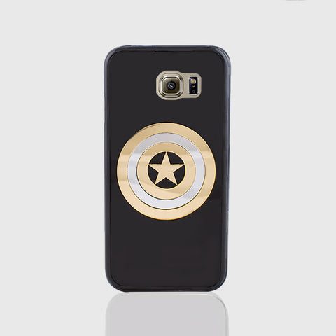 CAPTAIN AMERICA PHONE CASE FOR SAMSUNG S6 - Edmotic - 1