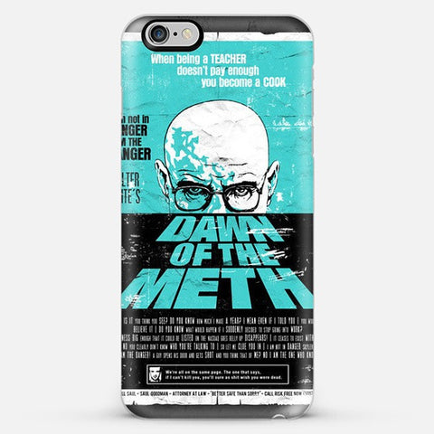 Dawn To The Meth  Iphone 6s Plus case - Edmotic