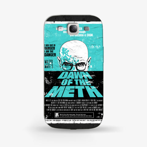 Dawn To The Meth   Samsung Galaxy S3 CASE - Edmotic