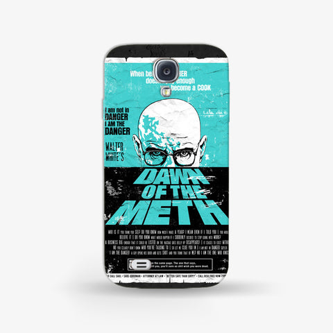Dawn To The Meth   Samsung Galaxy S4 CASE - Edmotic
