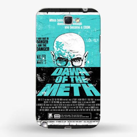 Dawn To The Meth   Samsung Galaxy Note 2 CASE - Edmotic