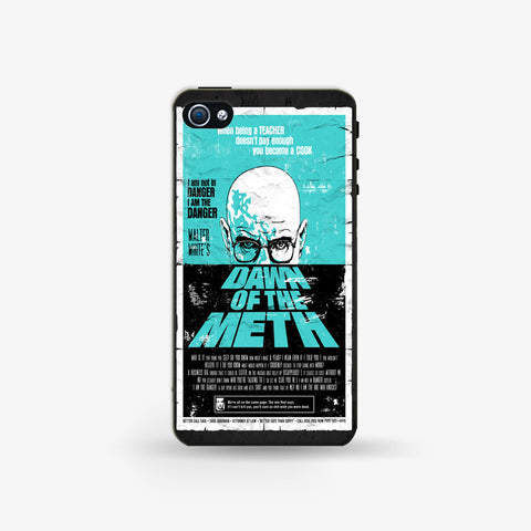 Dawn To The Meth   Iphone 4/4s Case - Edmotic