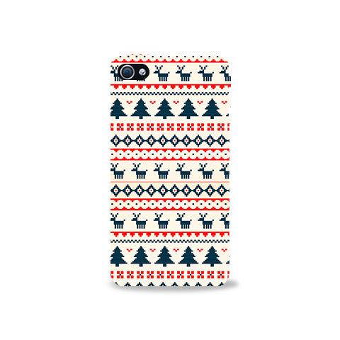 Christmas Snow Aztec Iphone 4/4s Case - Edmotic