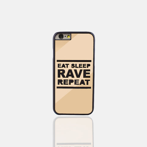 Eat Sleep Gold Phone Case (I Phone 6/6S) - Edmotic