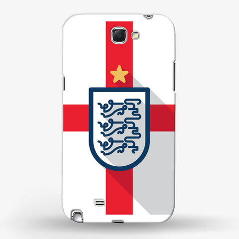 England Minimal  Samsung Galaxy Note 2 CASE - Edmotic